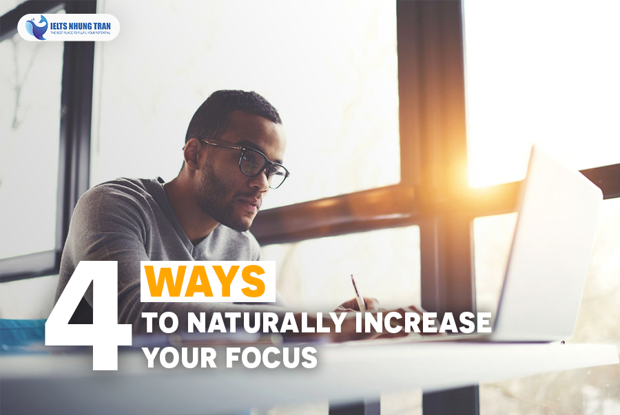 4 cách tăng hiệu quả tập trung